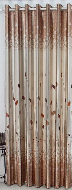 $34.09- Rustic Window Curtains For Living Room/Bedroom Blackout Curtains Window Treatment /Drapes Home Decor Tulip/Leaves/Floral Pattern