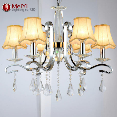 Vintage Modern K9 Luster Crystal Chandelier Luxury Crystal Candle Ceiling Chandelier Fixture Lighting Shipping