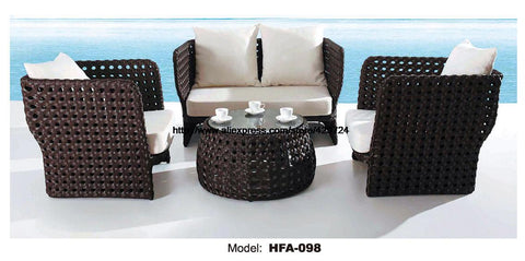 $1758.40- 2 Chair Sofa Set Outdoor Rattan Health Pe Rattan Furntiure For Garden Beach Swing Pool Sofa Furniture Hfa098
