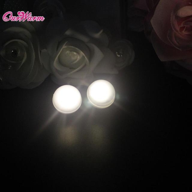 $48.26- 50Pcs/Lot Led Festival Party Lights Waterproof Led Berry Lights Fairy Glowing Berries Pearl Lamp For Wedding Lighting Decoration