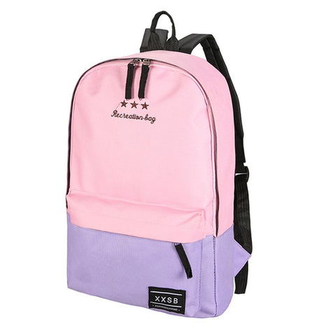 Casual Polyester Fiber Women Backpack Children Backpack School Bags For Teenager Girls Laptop Trave Rucksack Mochila Escolar