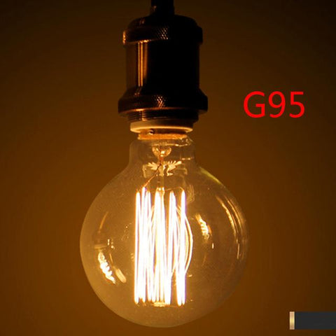 40W Antique Vintage Retro Edison Bulbs E27 Spiral Incandescent Light St64 A19 G80 Led Edison Lamp For Pendant Lamp Lighting