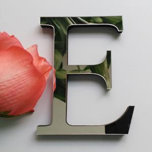 $0.77- New Diy Wall Stickers 3D Sticker Acrylic Decoration Wedding Gift Love Letters Decorative Alphabet Wall Decor