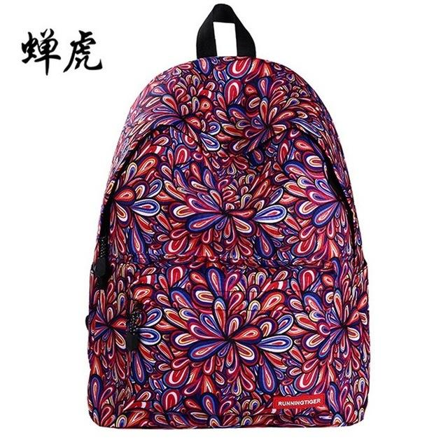 $36.02- 2016 Trendy Women Stars Universe Space Printing Backpack School Book Backpacks Stars Bag Mochila Feminina