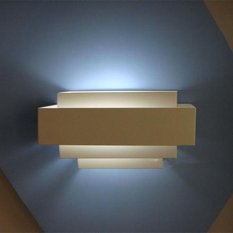 Modern Brief Multicolour 85265V 5W Led Wall Lamp Sconce Salon Walls Wall Sconces Modern Bed Led Light Sconce Size:25*10*13Cm
