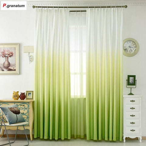 $14.87- 5 Color Window Curtain Living Room Modern Home Goods Window Treatments Polyester Printed 3D Curtains For Bedroom Bzg1303