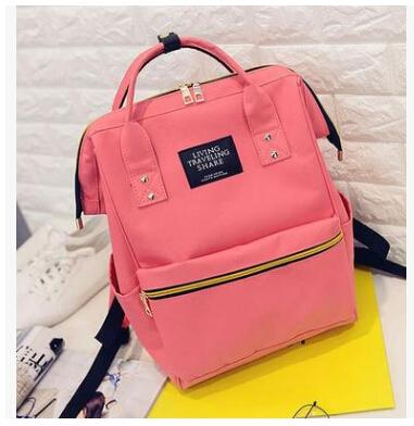 $26.17- Dida Bear Fashion Women Backpacks Female Denim School Bag For Teenagers Girls Travel Rucksack Kanken Space Backpack Sac A Dos