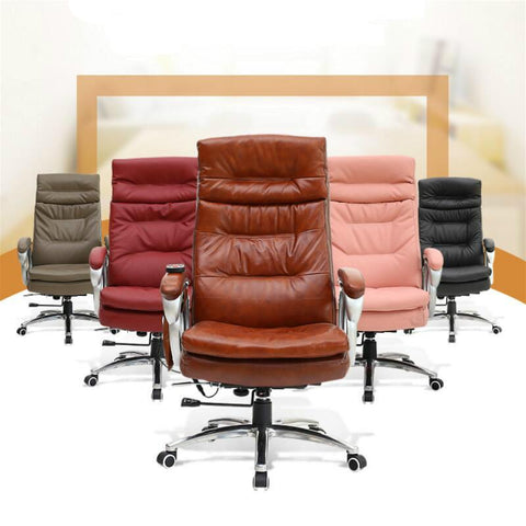 $1007.33- Simple Modern Fashion Boss Chair Leisure Adjustable Angle Lying Chair Office Furniture Computer Office Chair