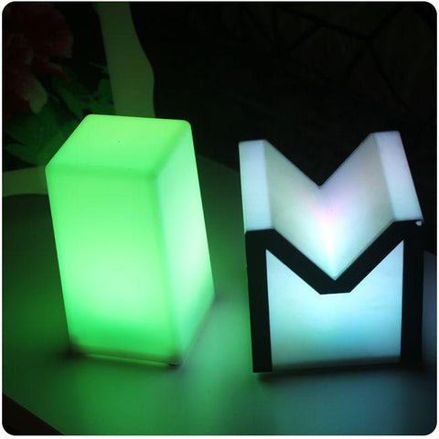 Night Club Outdoor Decoration Party Led Cube Led Bar Table Lamp Light Lumineux Lampe Design For Bar Furniture 3Pcs