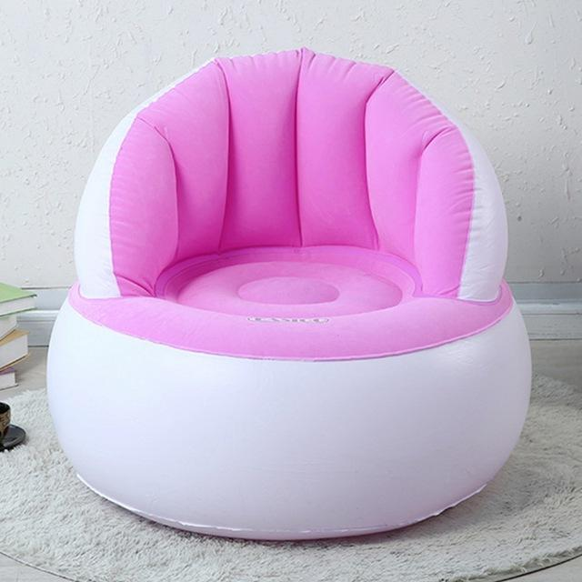 $49.00- Inflatable Chair Adult Kids Air Seat Chair Reading Relax Bag Inflatable Beanbag Home Furniture Living Room Sofa Lazy Chair