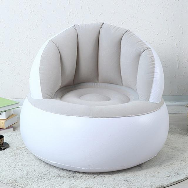 $88.06- Inflatable Chair Adult Kids Air Seat Chair Reading Relax Bag Inflatable Beanbag Home Furniture Living Room Sofa Lazy Chair