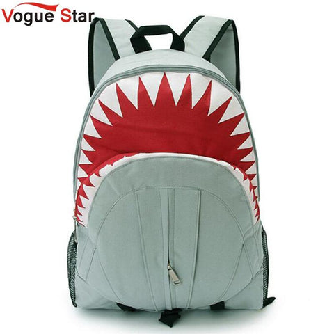 $30.24- Vogue Star Hot Children Fashion Shark Backpack Cute Backpacks Boy'S Travel Bags School Bag Ya40282