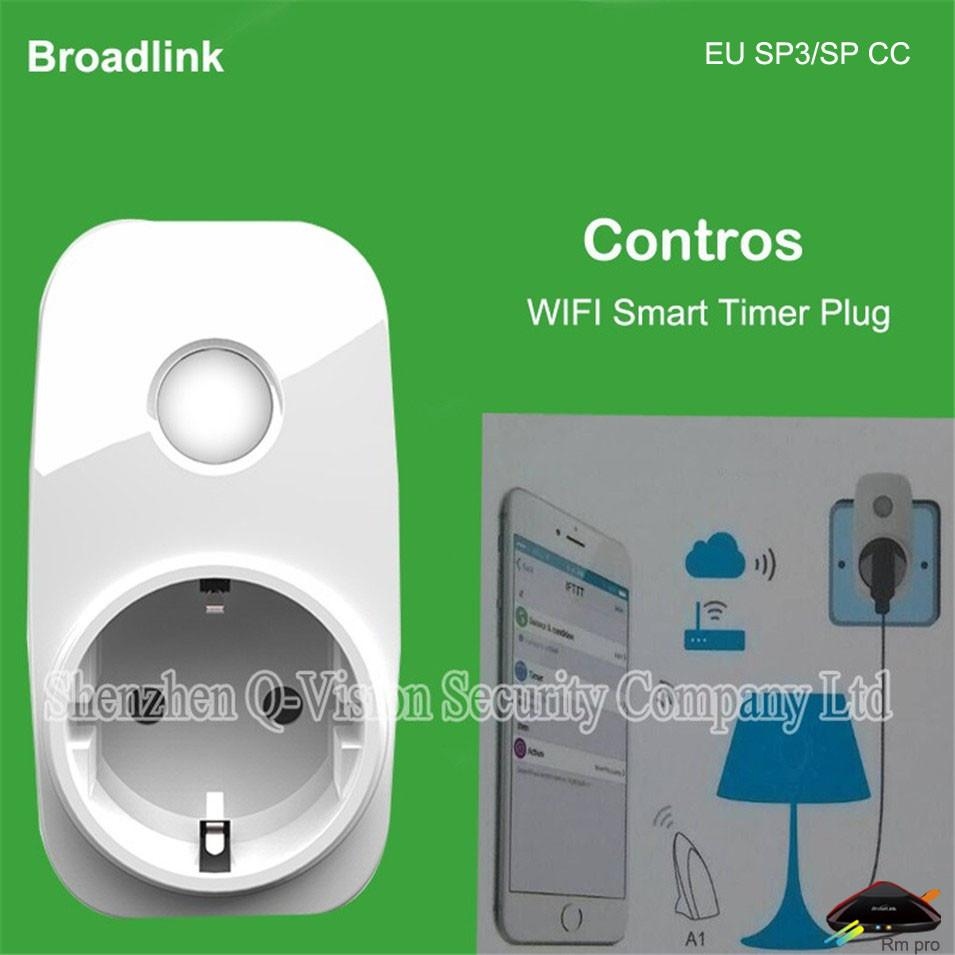 $73.24- Broadlink Contros Sp3 Eu Sp Mini Wireless Smart Home Wifi Plug 16A Timer Socket Home Automation Remote Control Via Ios roid