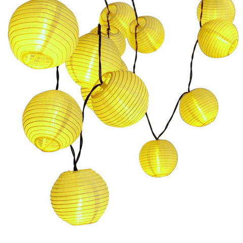 30 LED Lantern Ball Solar Sun String Lights Outdoor Lighting Solar Sun Lamp Fairy Globe Christmas Decorative Light for Party Holiday