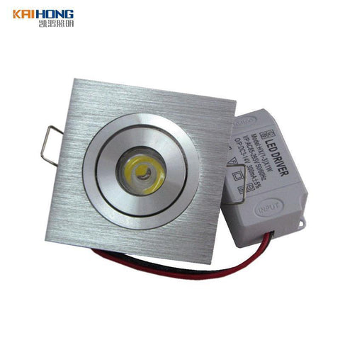 Square Small Led Ceiling Light 1W 3W Recessed Down Lights 110V 220V Adjustable Led Ceiling Lamp Home Indoor Lighting
