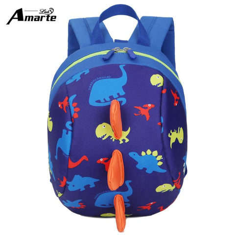 $18.81- New AntiLost Kids Bags Backpack Cute Cartoon Animal Printing Children Backpacks For Boy Girls Kindergaden School Backpacks