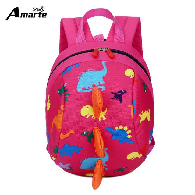 $32.52- New AntiLost Kids Bags Backpack Cute Cartoon Animal Printing Children Backpacks For Boy Girls Kindergaden School Backpacks