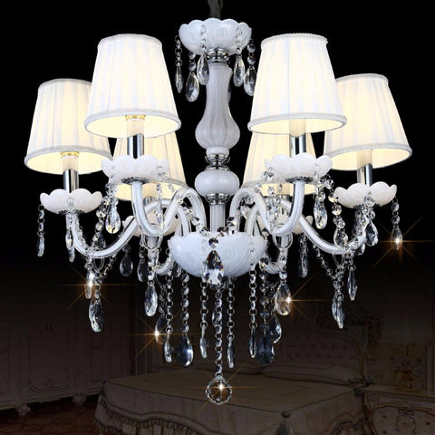 Lustre Modern Led Crystal Chandelier Lighting Ceiling Chandeliers Lampadario Light Candelabro Hanglamp Lamparas Luminaire Lampen