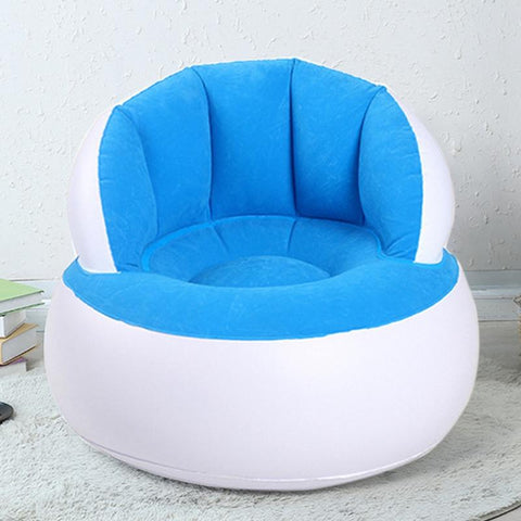 Inflatable Chair Adult Kids Air Seat Chair Reading Relax Bean Bag Inflatable Beanbag Home Furniture Living Room Sofa Lazy Chair