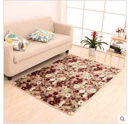 120X160Cm Big Leaves Heart Carpets For Living Room Flower Bedroom Rugs Carpets Door Mat Coffee Table Area Rug Kids Play Mat