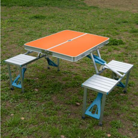$411.53- Portable Aluminum Alloy Outdoor Tables Camping Beach Folding Tables & Chairs