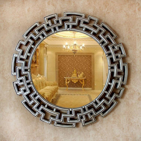 $582.20- Dia68cm European style wall decorative mirrors wedding decor mirrors