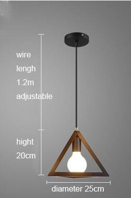 $38.00- Feimefeiyou Nordic retro iron creative chandeliers loft simple personality singlehead restaurant lights bar art pendent light