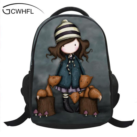 $30.96- New Design Popular Children Schoolbag Cute Kids Printing Cartoon Backpack Characters Book Bag For Kids Boys Girls Satchel