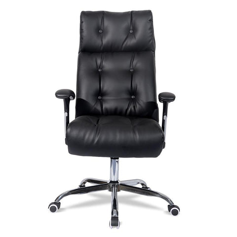 $684.04- Special offer computer chair home office chair headrest staff skin comfort boss high back reclining chair furniture rotation