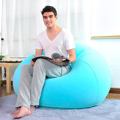 $87.21- Lazy Sofa Outdoor Creativity Tatami Sofa Environmental Protection Inflatable Sofa Air Cushion Sofa