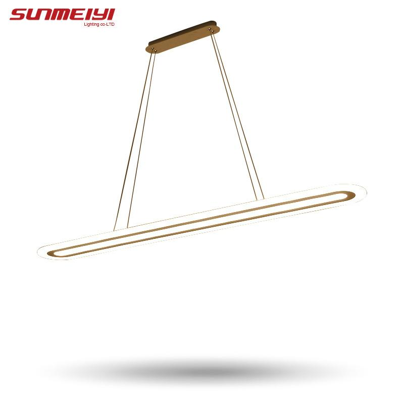 $105.62- Modern Led Simple Pendant Lights For Living Room Dining Room Lustre Pendant Lamp Hanging Ceiling Fixtures