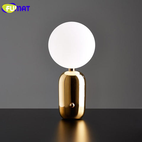 Nordic Table Lamp Modern Study Bedroom Bedside Luminaria Table Creative Aballs Design Table Lamps Ball