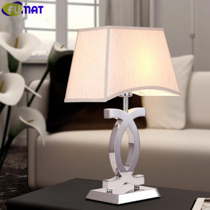$357.36  Dimming Led Table Lamps Modern Stainless Steel Table Lamp For  Bedroom Bedside Light Simple