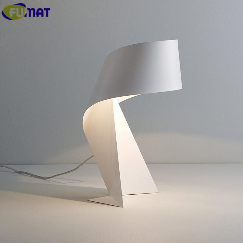 Paper folding table lamps modern bedroom bedside light living room paper folding table lamps modern bedroom bedside light living room study desk lamps black white aloadofball Choice Image