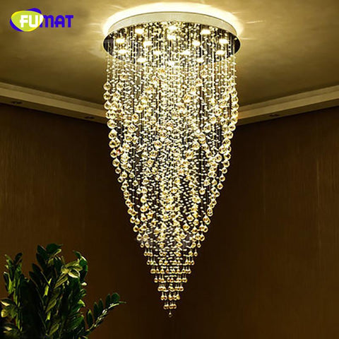K9 Crystal Chandeliers Modern Artistic Fashion Spiral Chandelier Ceiling Living Room Dining Room Led Hanging Chandelier