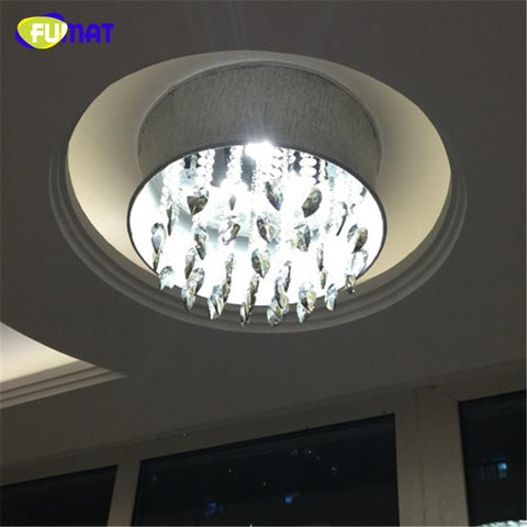 Smoke Grey Crystal Chandelier Modern Suspension Light For Living Room Bed Room Gray Shade Light Led K9 Crystal Chandeliers