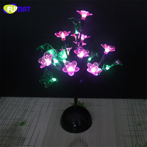 $91.89- Novelty Led Tree Lamp Flower Blossom Night Lights For Lving Room Romance Christmas Wedding Decoration Indoor Lighting