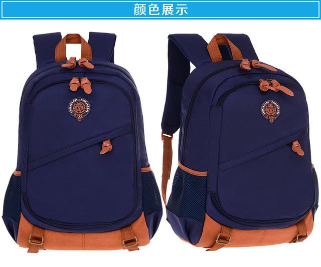 $34.06- Children School Bags For Boys Girls Waterproof Orthopedic Schoolbag Primary Backpack Kids Book Bags Children Backpack Sac Enfant