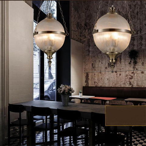 $492.92- Glass Pendant Lights Creative Art Deco Suspension Lamp Living Room Dining Room American Simple Cafe Bar Pendant Lights