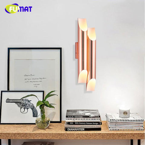 Ecobrt 2016 Modern Led Bathroom Lights Fixtures 8W 12W 16W 24W Over Mirror Tube Lights Wall Mounted Sconces Indoor Lighting