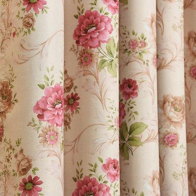 $39.45- New Arrival Rural Pastoral Window Curtains For Living Room/ Bedroom Thick Blackout Curtains Window Treatment