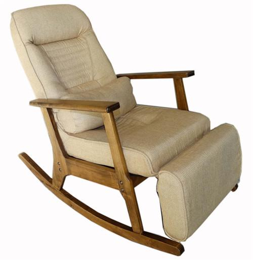 $490.36  Vintage Furniture Modern Wood Rocking Chair For Aged People  Japanese Style Recliner Easy Chair