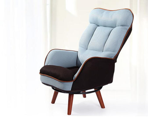 $311.93- Wooden LowSeat Armchair Sofa 360 Degree Swivel Chair Living Room Furniture Mid Century Single Couch Seat Lazy Leisure Arm Chair