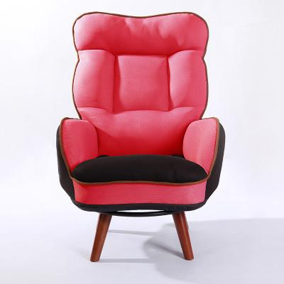 Buy Wooden LowSeat Armchair Sofa 360 Degree Swivel Chair Living Room ...