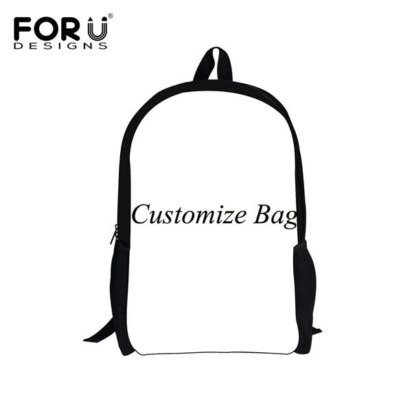 9f70c35a270f  29.93- Forudesigns Cute Kids Backpack Canvas Bagpack Panda Owl Wolf Animal  Printing Children School Bag