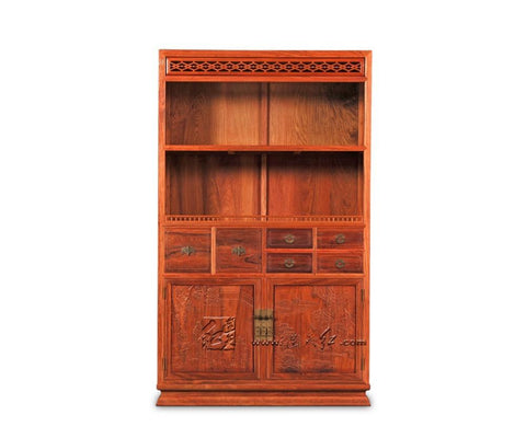 $13628.70- Multifunction Office Study Room Bookcase Storage Wooden Bookshelf 4 Layers Rosewood Home Kitchen Caninet Set Book Shelf Facotry