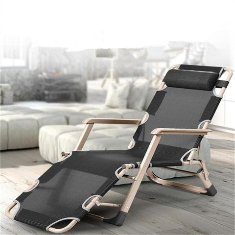 $358.63- Simple Modern Folding Breathable Mesh Chair Office Leisure Lying Bed Beach Balcony Bench Single Bed Reclining Napping Sun Chair