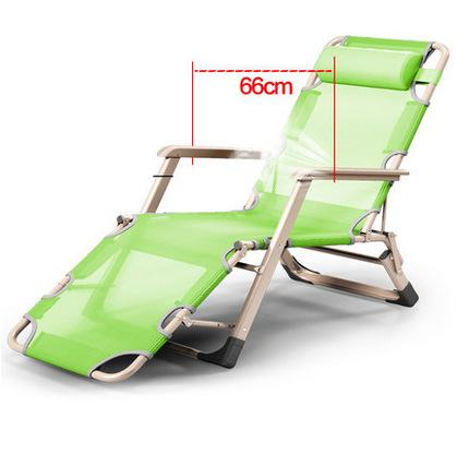 Simple Modern Folding Breathable Mesh Chair Office Leisure Lying Bed Beach Balcony Bench Single Bed Reclining Napping Sun Chair