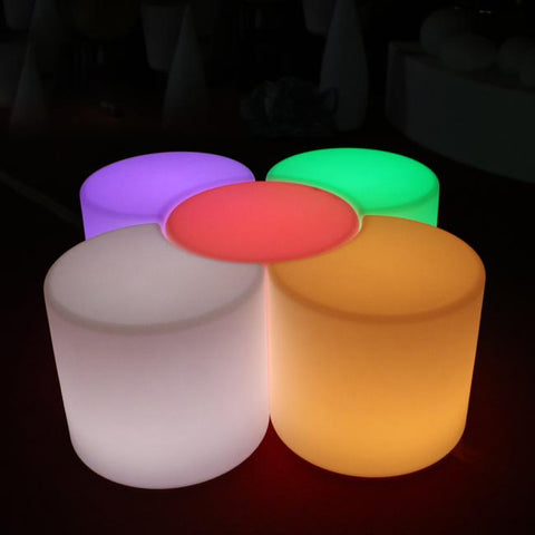 $432.96- 50cm Led Luminous Light Bar Stool Color Changeable Plastic PE Chair SK-LF35J from Skybess Factory Direct free shipping 1pc