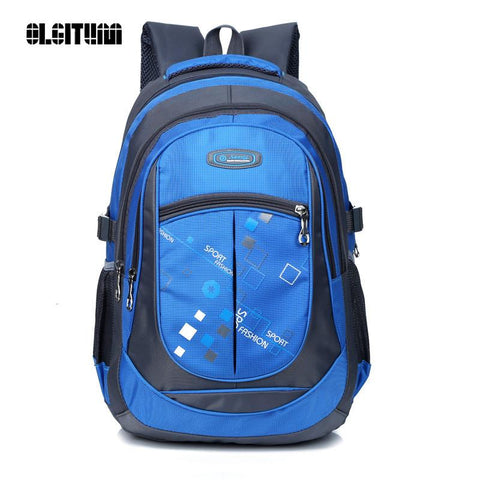 $32.22- Fashion High Quality Students Backpacks School Bags Waterpfoof Schoolbag Kids Book Bag For Boys / Girls Children Backpacks